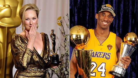 Kobe Bryant & Meryl Streep