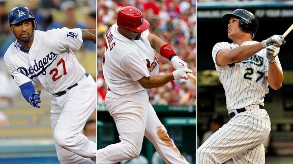 Kemp, Pujols, Stanton