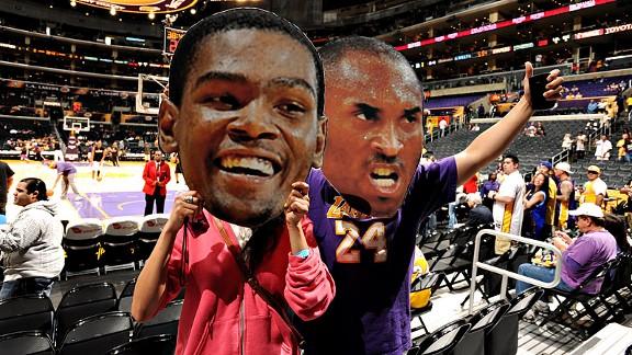 Durant & Kobe Big Heads