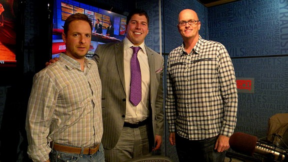 Ryen Russillo, David Diehl and Scott Van Pelt