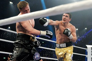 Marco Huck and Alexander Povetkin