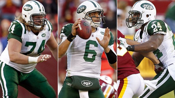 Nick Mangold/Mark Sanchez/Darrelle Revis