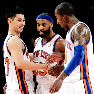 Jeremy Lin/Baron Davis/J.R. Smith