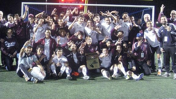 Paramount HS soccer team