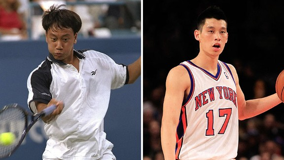 Michael Chang and Jeremy Lin