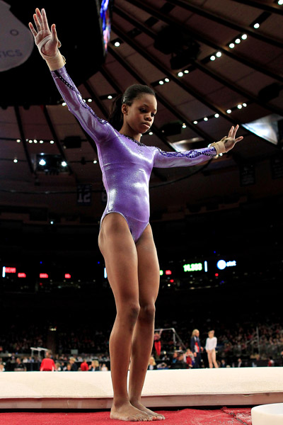 Gymnastics -- Gabrielle Douglas makes most of opportunity at AT&T
