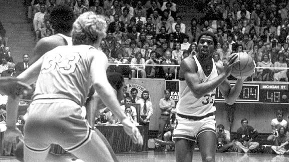 Larry Bird and Magic Johnson