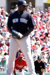 Michael Pineda and Jimmy Rollins