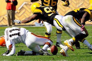 Mohamed Massaquoi and James Harrison