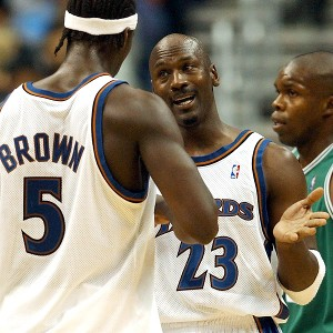 Michael Jordan, Kwame Brown