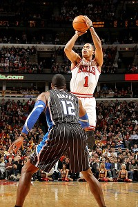 Derrick Rose and Dwight Howard