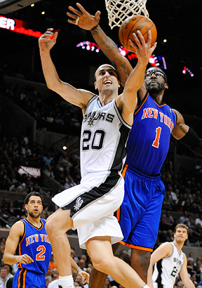 Manu Ginobili and Amare Stoudemire