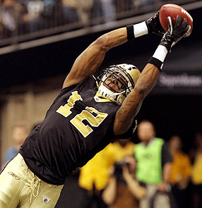 Saints get top WR Colston back from PUP