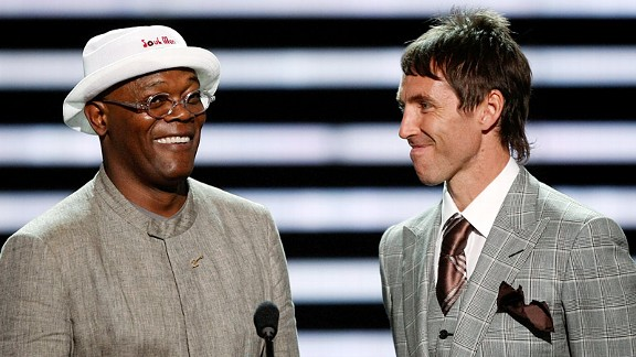 Samuel L Jackson & Steve Nash