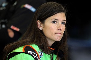 Danica Patrick made history with a fourth-place showing in Las Vegas last season, the best finish for a woman in a national NASCAR race.