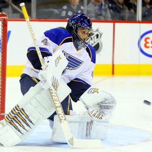 Jaroslav Halak of the St. Louis Blues