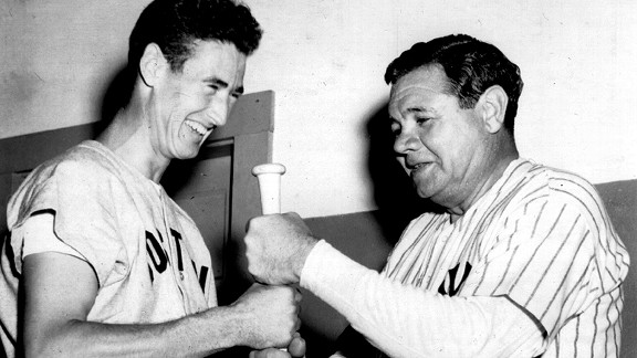 Ted Williams/Babe Ruth