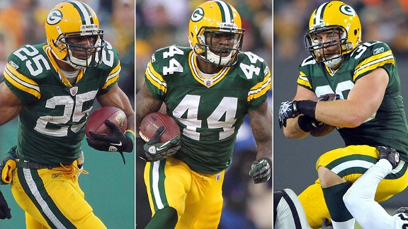 Ryan Grant/James Starks/John Kuhn