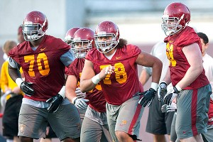USC's offensive line
