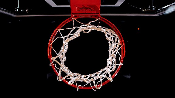 backboard and hoop 