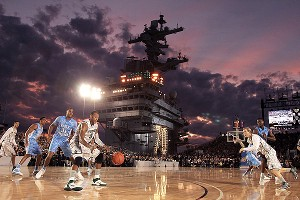 North Carolina-Michigan on Carrier