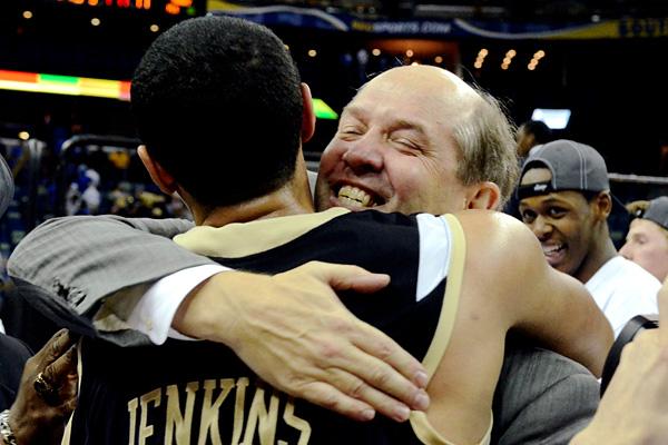 Vanderbilt's Kevin Stallings and John Jenkins