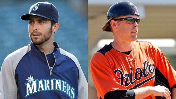 Dustin Ackley and Matt Wieters
