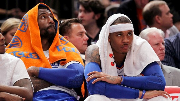 Amar'e Stoudemire, Carmelo Anthony