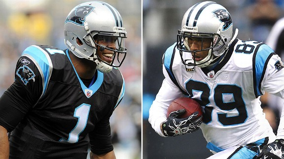 Cameron Newton/Steve Smith