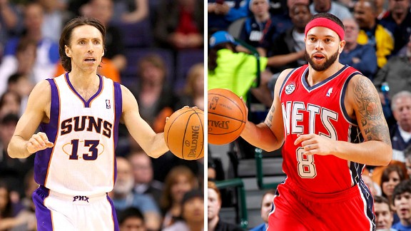 Steve Nash and Deron Williams