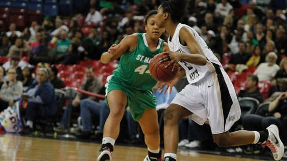California high school girls basketball,Archbishop Mitty vs. Stockton St. Mary's