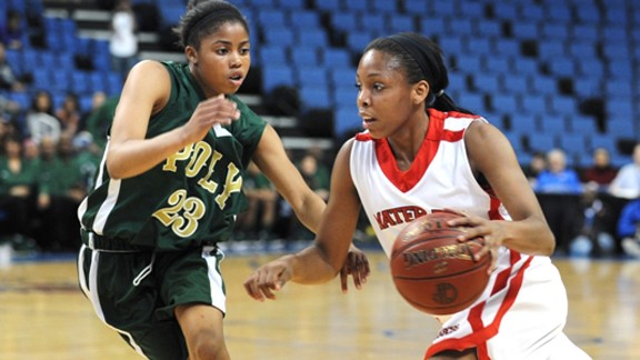 California high school girls basketball, Mater Dei vs. Long Beach Poly