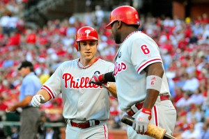 Chase Utley and Ryan Howard