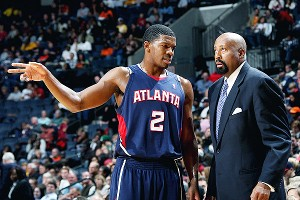 Scott Cunningham/NBAE/Getty Images Joe Johnson and Mike Woodson spent