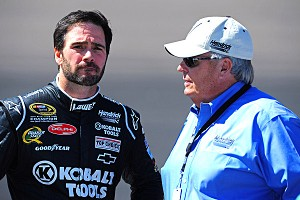 Jimmie Johnson and Rick Hendrick