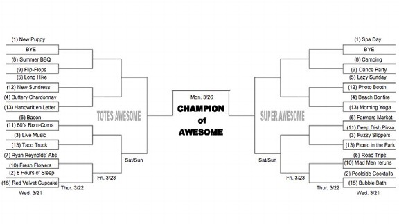Bracket of Awesome