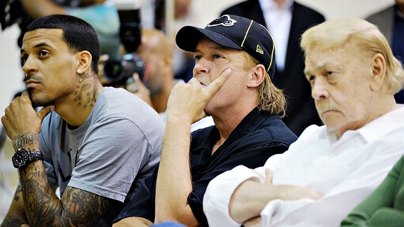 Matt Barnes, Jim Buss, Jerry Buss