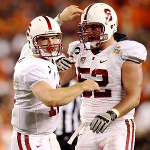 Stanford's Andrew Luck and David DeCastro