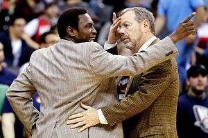 Avery Johnson and  P.J. Carlesimo