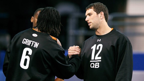 Robert Griffin III and ANDREW LUCK PRO DAY tips - Page 2 - ESPN