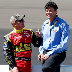 Clint Bowyer & Michael Waltrip