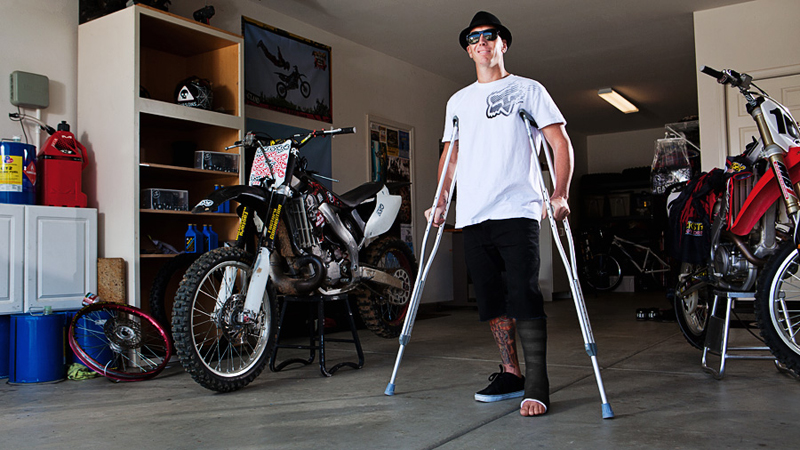Doug Parsons is on the mend from a broken ankle, and has been a major contributor to the ESPN FMX blog over the past several months.
