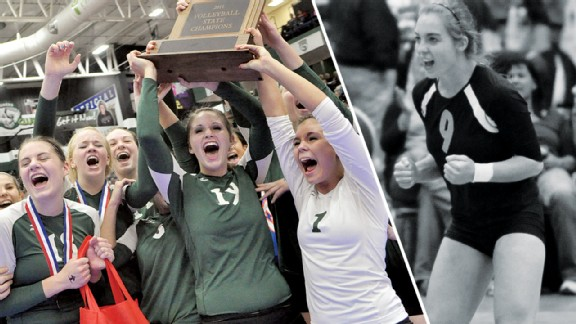 Iowa City West volleyball