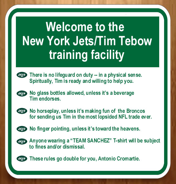 New York Jets Should Implement New Rules To Accommodate Tim Tebow Page 2 Espn