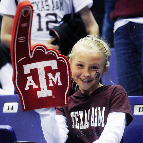 Texas A&M fan