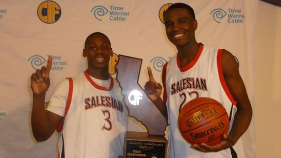California high school boys basketball, CIF state championships