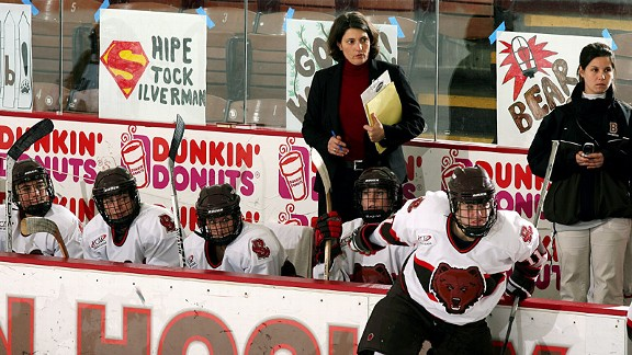 Digit Murphy, who coached women's hockey at Brown for 22 years, has been a tireless advocate of Title IX.