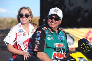 John and Brittany Force