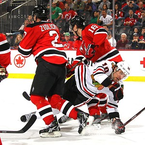 Blackhawks vs Devils