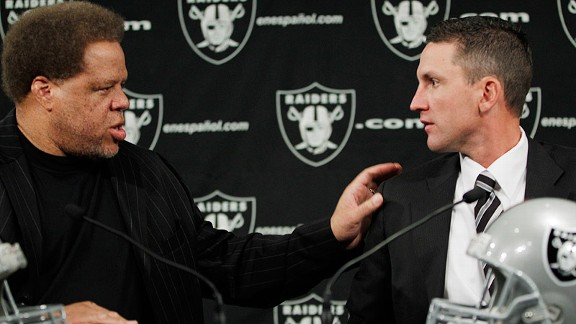 Reggie McKenzie, Dennis Allen